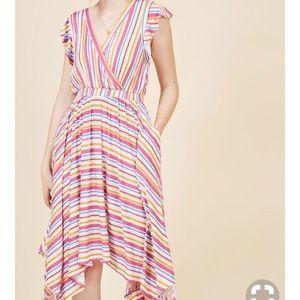 Size 2X Striped Dress